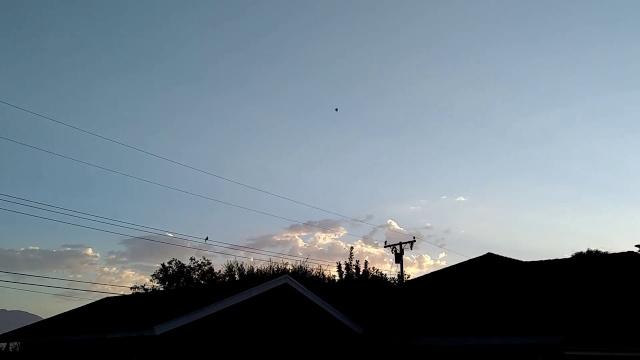 Видео НЛО над Лос-Анжелесом