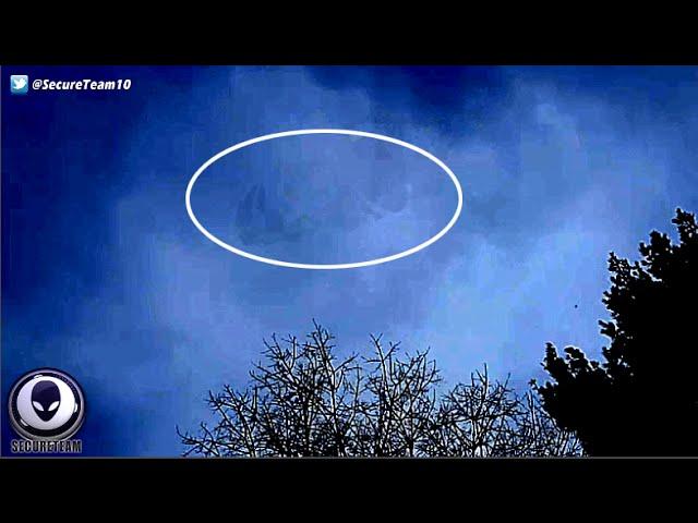 Почти невидимый НЛО