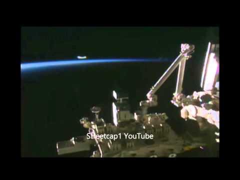 НЛО у МКС видео
