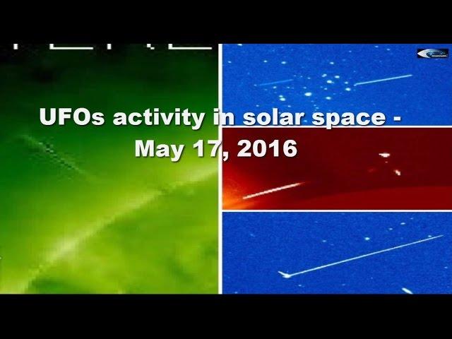 НЛО у Солнца. Обзор за 17 мая 2016
