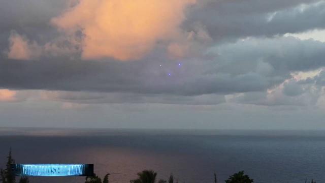 Видео НЛО над Малибу