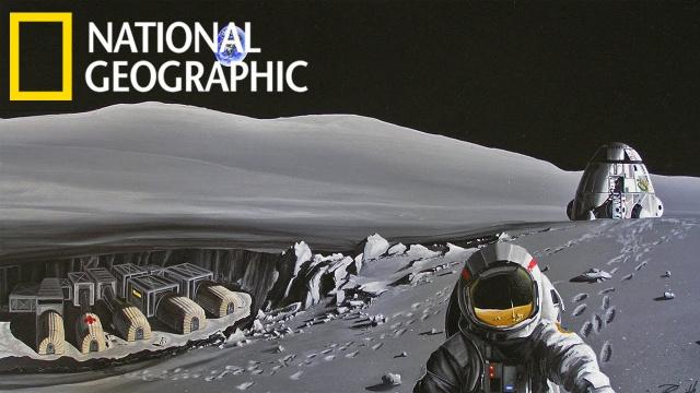Заселение Луны. С точки зрения науки. National Geographic