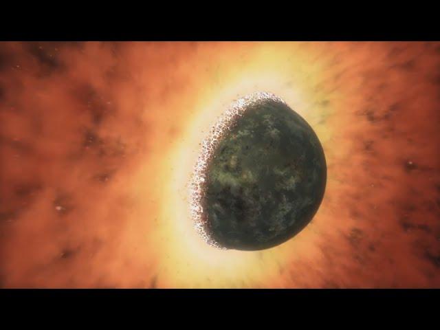 Теории рождения Луны