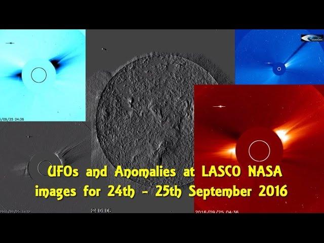 НЛО у Солнца 24-25 сентября 2016