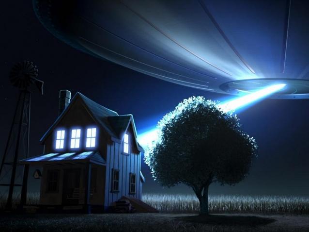 Где  расположены НЛО?  База НЛО.
