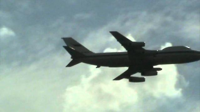 НЛО на праздновании 100-летия ВВС