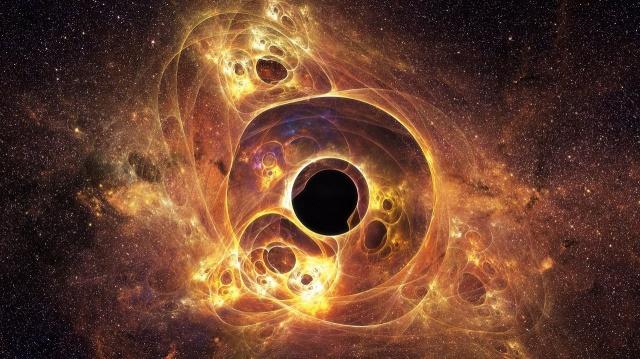 Рождение Чёрной Дыры. Космические путешествия