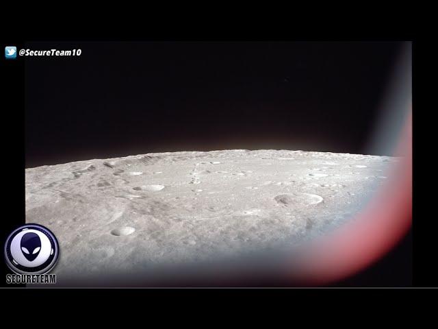 НЛО на Луне видео