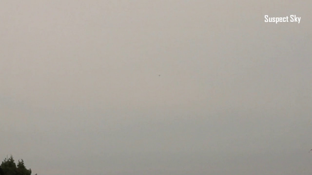 В небе над Польшей заметили мигающий светом НЛО