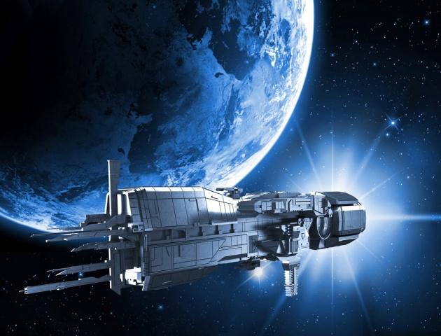 Земля космический корабль. Осень