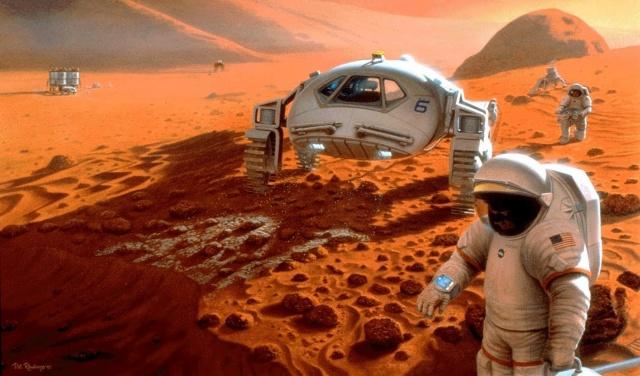 Переселение на Марс. Освоение Марса человеческой цивилизацией.