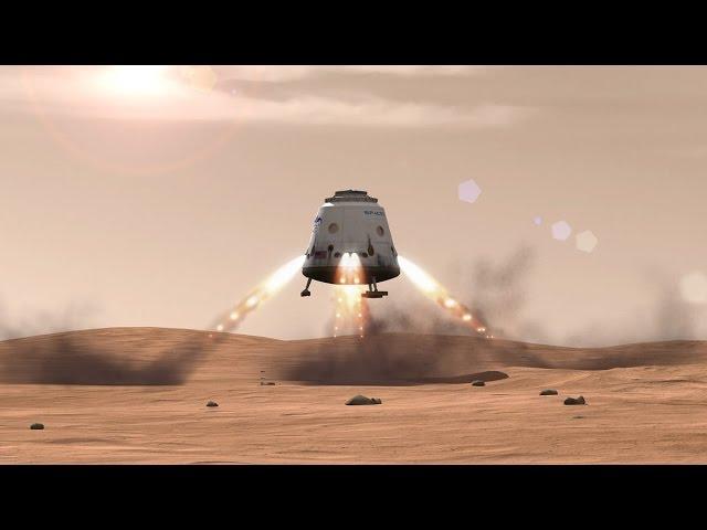 Покорение Марса. Миссия и посадка на Красную планету. Фильм пятый. Космос, Вселенная 10.04.2017