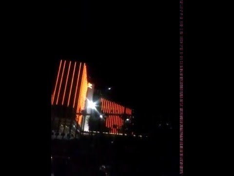 Видео с НЛО над Лас-Вегасом