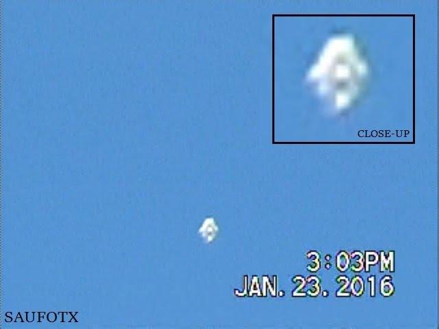Белый НЛО был снят над Сан-Антонио