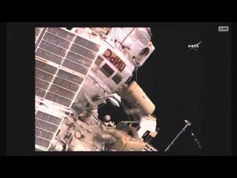 Видео НЛО рядом с МКС