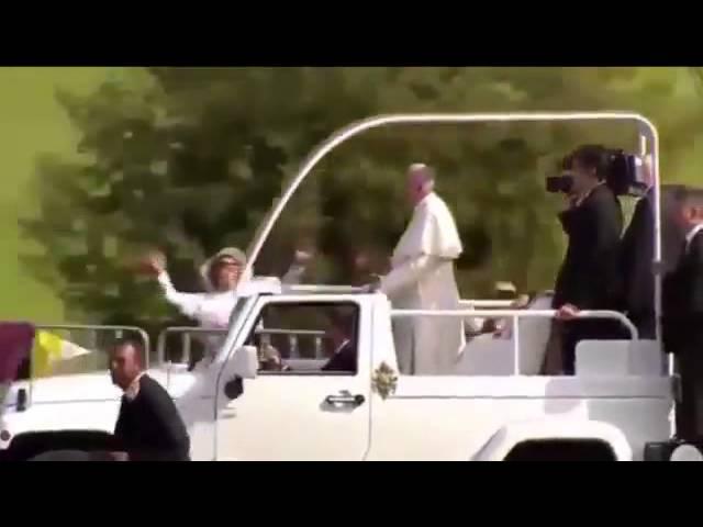 Призрак Папы Римского видео