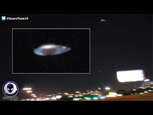Видео НЛО над Техасом