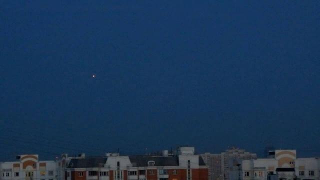Видео НЛО над Москвой
