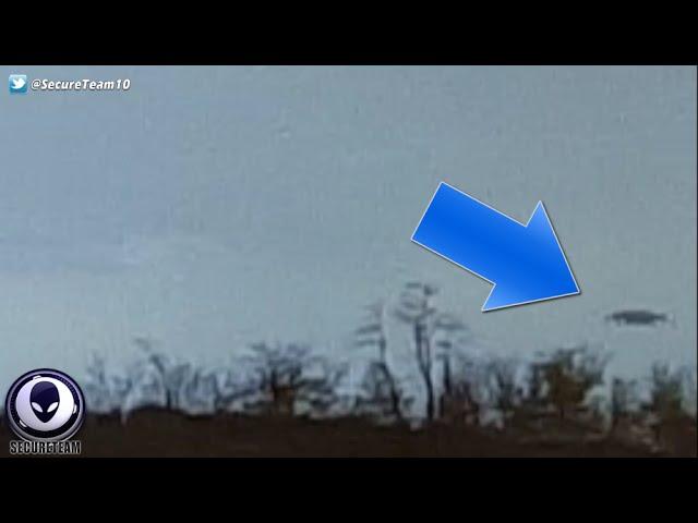 Видео НЛО над шоссе
