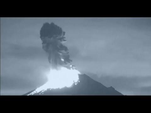 Извержение вулкана Попокатепетль в Мексике, видео 2016, а так же присутствие НЛО