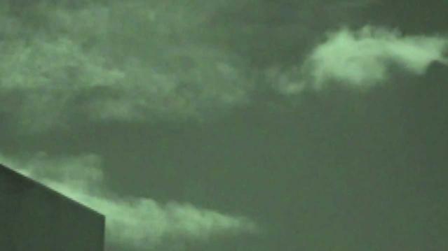 Видео НЛО в небе над Великобританией
