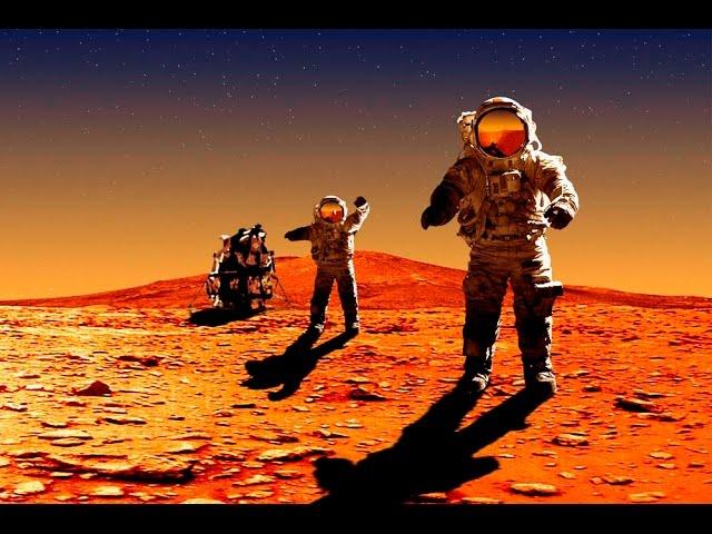 Первый и тайный полет на Марс. Документальный фильм о Марсе