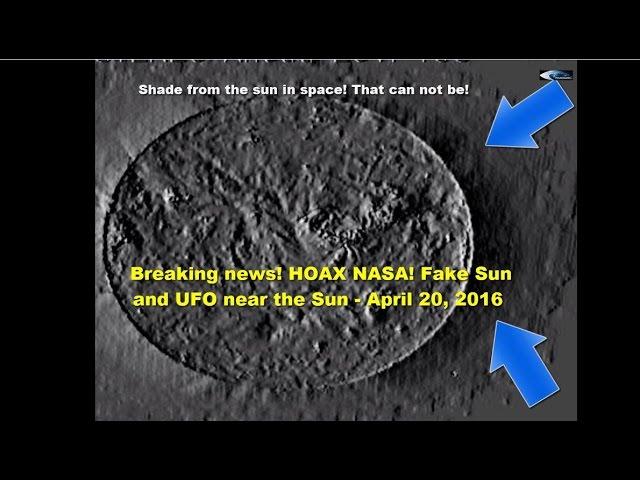 НЛО у  Солнца - 20 апреля 2016