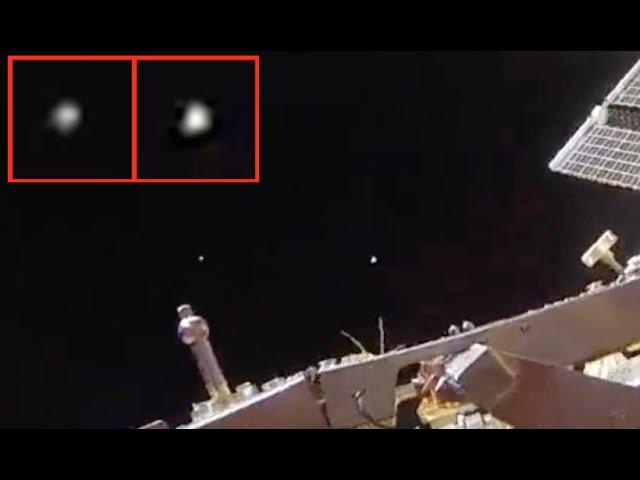 Видео НЛО в космосе у МКС