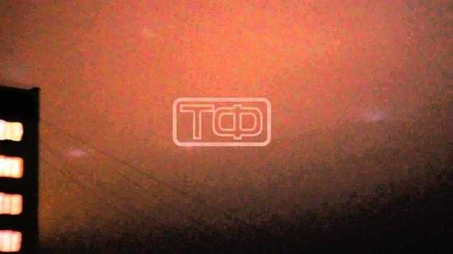 Жители Челябинска сняли НЛО в небе