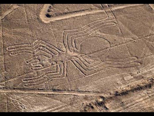 Наска Загадки рисунков Наска Рисунки пустыни НЛО