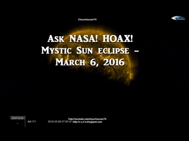 НЛО у Солнца 6 марта 2016