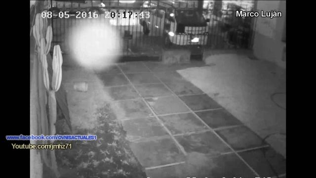 Призрак засняли в Перу на камеру видеонаблюдения