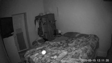 Энергетический шар наведался в спальню