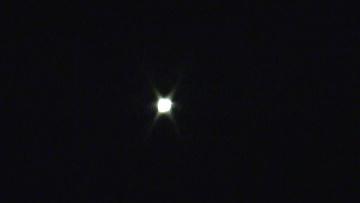 НЛО над Москвой. Кузьминки-Люблино. Сильное свечение от объекта