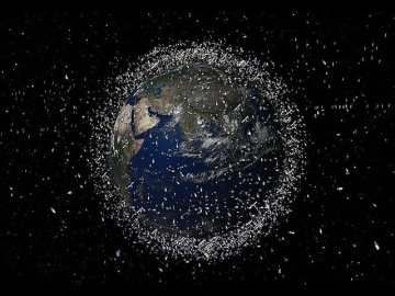 Вопрос времени - Космический мусор