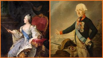 Кем была А. В. Суворову, Екатерина II ?