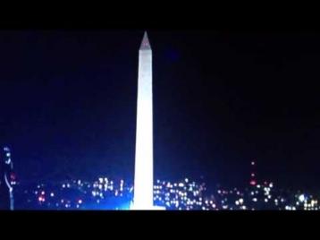 НЛО наблюдал за инаугурацией Барака Обамы