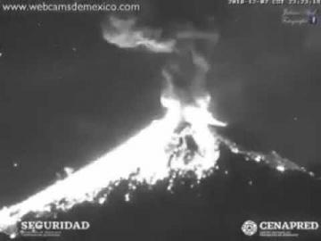 НЛО взорвали вулкан Попокатепетль