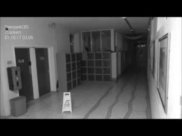 Необъяснимые явления, происходящие ночью попали на видео