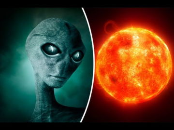 NASA опубликовало видео заправки НЛО от Солнца