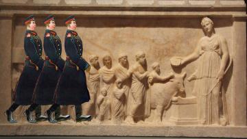 Когда вернутся Гиганты Москвы? Тайные смыслы советских скульптур