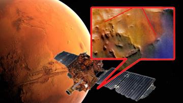 Зонд NASA на Марсе обнаружил руины строения