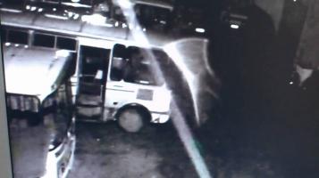 Привидение на автостоянке в Нерехте