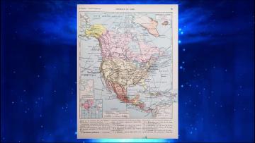 Какая земля настоящая? Два французских учебника географии - два мира. Год 1920 и год 1924.