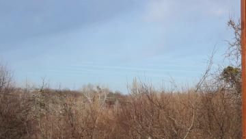 Химтрейлы исполосили небо Краснодарского края