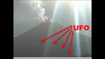 НЛО над вулканом Попокатепетль