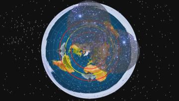 Как работают Южные Звезды на Плоской Земле. Эрик Дубей
