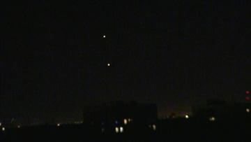 НЛО в небе над Москвой. Юго-восток