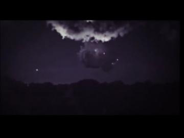 НЛО в Австралии заряжались от молнии