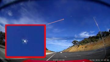 Пролет НЛО над Австралией